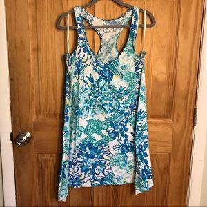 Lilly Pulitzer Medium Tank Dress Monterey